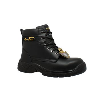 "Men's 6"" Steel Toe Work Boot Black - Footwear"