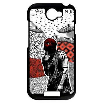 Twenty One Pilots Artwork Poster HTC One S Case
