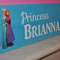 Custom Frozen Wall Art - Perfect for Kids Room - Personalize!