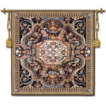 Summer Bloom Woven Wall Tapestry