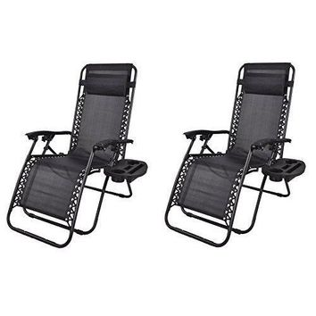 Outdoor Chair Case Lounge Outdoor Patio Beach Yard Garden Utility Tray Cup Set
