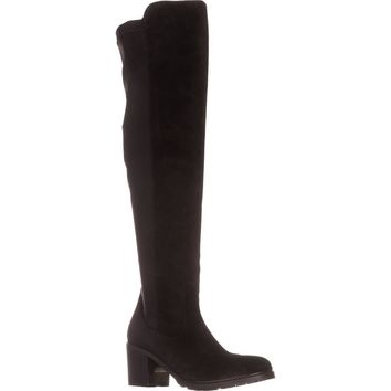 Kenneth Cole Daste Over The Knee Boots, Black, 8 US