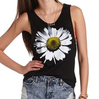 DAISY GRAPHIC MUSCLE TEE