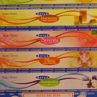 Satya Yoga Series Incense Collection - Six 15 Gram Box