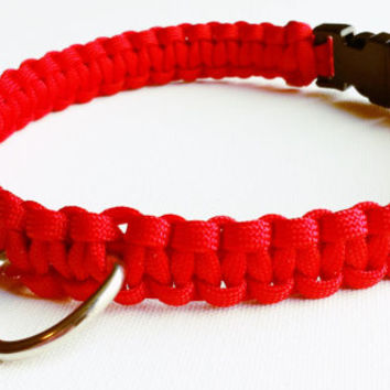 Custom Paracord Dog Collar - Custom Dog Accessories - 550 Paracord - Paracord Dog Leash - Pet Leash - Custom Color Collar