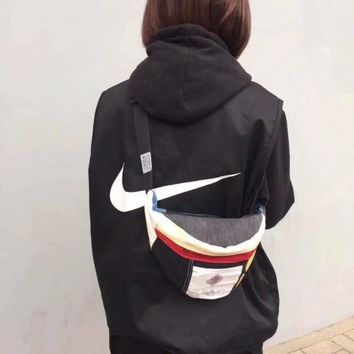 NIKE Women Fashion Down Waistcoat Cardigan Jacket Coat