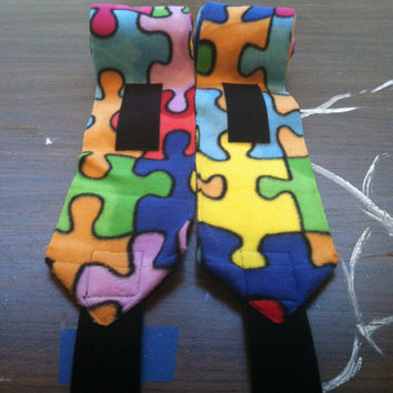 Autism Awareness Polo Wraps