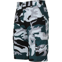 Philadelphia Eagles Tailgate Camo Shorts - Midnight Green/Black