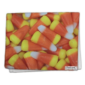 "Candy Corn 11""x18"" Dish Fingertip Towel All Over Print by TooLoud"