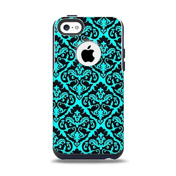 The Delicate Pattern Blank Apple iPhone 5c Otterbox Commuter Case Skin Set