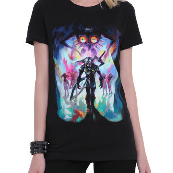 The Legend Of Zelda: Majora's Mask 3D Fierce Diety Girls T-Shirt