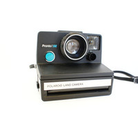 Black Polaroid Camera Pronto! SE SX-70 - Film Tested Working