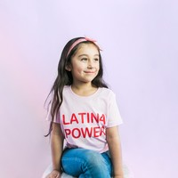 Kids Latina Power Tee