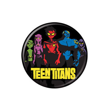 Teen Titans Button