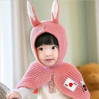 Cute Bunny Hood for Kids