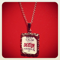 Dexter Morgan - Michael C Hall - Keep Calm & Let Dexter Handle It Necklace