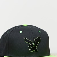 's Signature Applique Fitted Baseball Cap (Black)