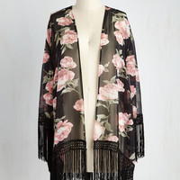 Boho Long Rose For the Camera Jacket