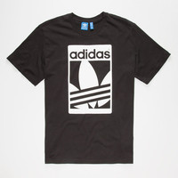 Adidas Street Graphic Mens T-Shirt Black  In Sizes