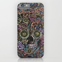 Sensory Overload Skull in Pastels iPhone & iPod Case by Kristy Patterson Design