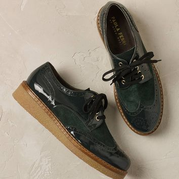 Hadley Patent Leather Brogues