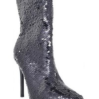 Whiskey-1 Sequin Ankle Boot (More Colors)