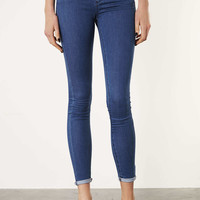 MOTO Blue Leigh Jeans - Topshop USA