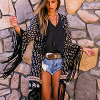 Spell & the Gypsy Collective Bohemian Royale Tassel Kimono