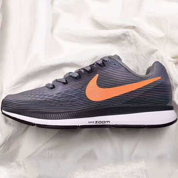 NIKE ZOOM PEGASUS Trending Retro Fashion Casual Sports Shoes Dark grey G-PSXY
