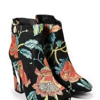 Flower Child Floral Bootie