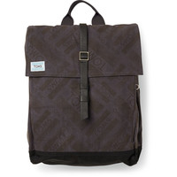 TOMS Charcoal Logo Canvas Explorer Backpack