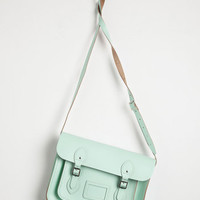 Vintage Inspired Cambridge Satchel Company Bag in Mint - 13 inch by The Cambridge Satchel Company from ModCloth
