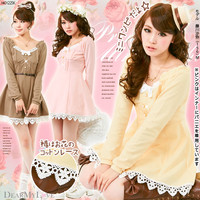 I charm waist bustier in fine style ♪Princess punch one piece