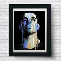 Drake Wall Art  | Lisa Jaye Art Designs