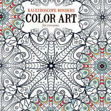 Kaleidoscope Wonders Adult Coloring Book