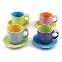 Hemisphere Demitasse Tea Cup Set