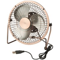 HONEY-CAN-DO OFC-04475 USB-Powered Desk Fan (Bronze)