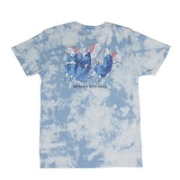 Heaven And Hell Tee (Cloud Wash) | RIPNDIP