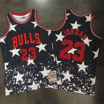 DCCK Independence Day #23 Michael Jordan Swingman NBA Jerseys