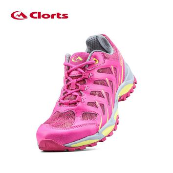 2016 Clorts New Women Running Shoes 3F021C/D Light Outdoor Shoes Breathable Running Sneakers for Women