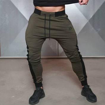 Men's elastic waist pants perfect for gym, dance, jogging or just lounging!