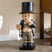 Southern Enterprises Butler Bathroom Tissue Holder | Meijer.com