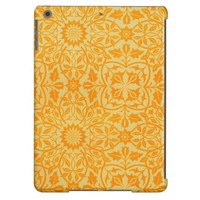 Floral in Orange and Gold Case For iPad Air