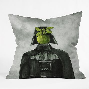 Eric Fan Son Of Darkness Throw Pillow