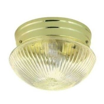 "Nuvo 76-250 - 8"" Close-To-Ceiling Flush Mount Ceiling Light"
