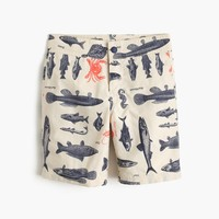 Boys' board short in saltwater fish : Boy board shorts | J.Crew