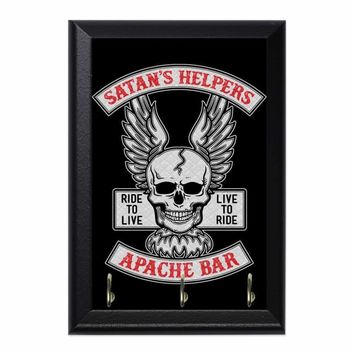 Satans HelpersDecorative Wall Plaque Key Holder Hanger