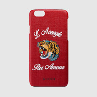 Gucci L'Aveugle Par Amour iPhone 6 case