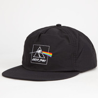 Catch Surf Dark Side Mens Snapback Hat Black One Size For Men 25504310001