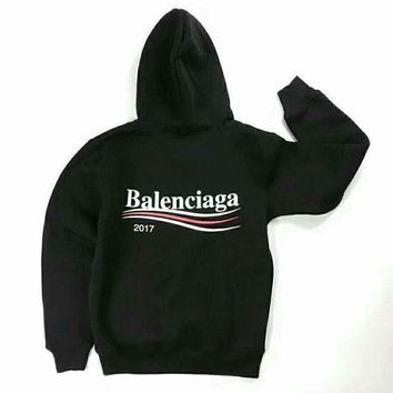 ONETOW balenciaga long sleeve hedging pullover sweater hoodies black g jj lhycwm 2